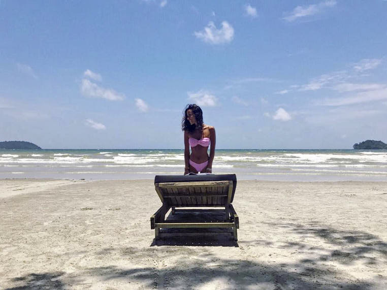 Koh Rong Samloem Cambogia Passione Passaporto ragazza