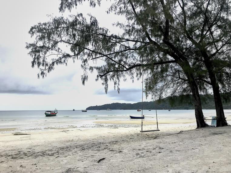 Koh Rong Samloem Cambogia Passionepassaporto spiaggia