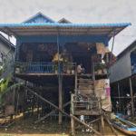 Siem Reap Cambogia Passione Passaporto case galleggianti
