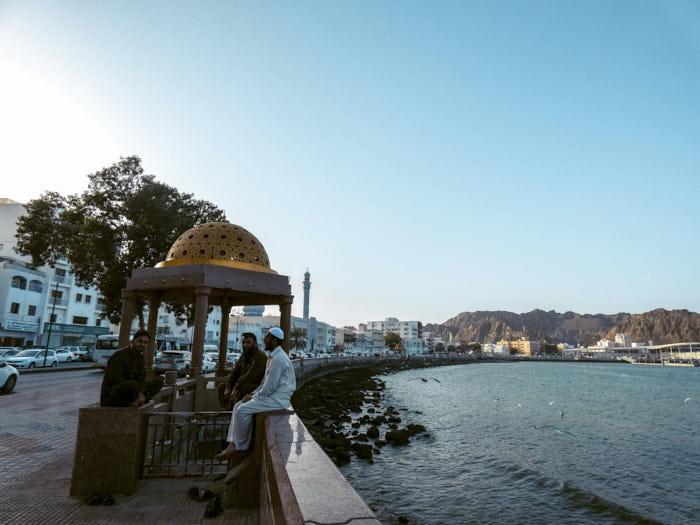 Muscat Oman Corniche Passione Passaporto