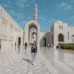 Moschea Sultano Qaboos Muscat Oman Passione Passaporto