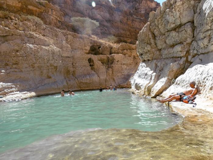 Wadi Shab Oman Passione Passaporto
