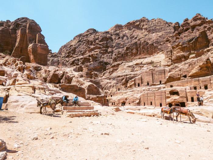 Cosa fare a Petra Tomba Reale Tomba di Seta giordania Passione Passaporto