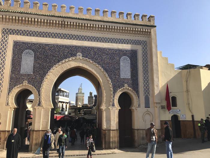Fez Bab Boujloud Marocco Passione Passaporto