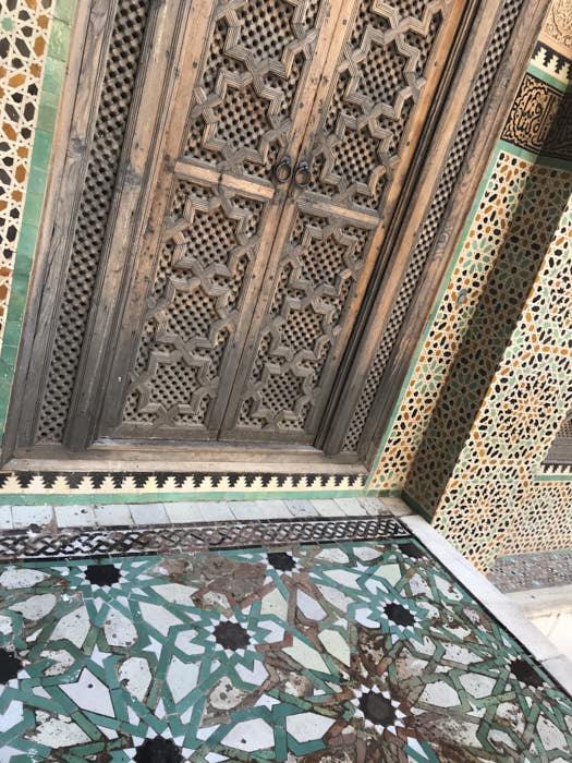 Fez Madrasa Bou Inania Marocco Passione Passaporto