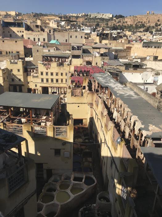 Fez Concerie Chouwara Marocco Passione Passaporto