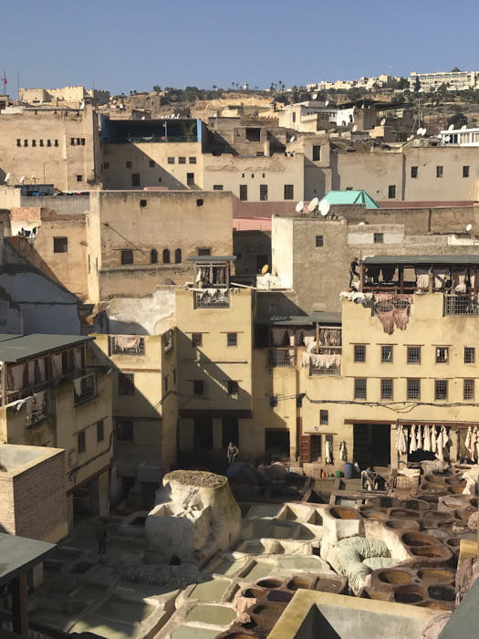 Fez Marocco Concerie Chouwara Passione Passaporto