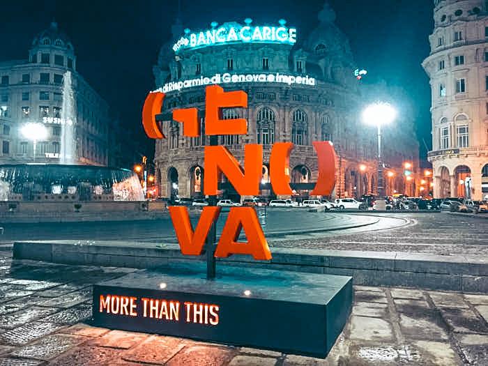 Genova Piazza De ferrari Liguria Italia Passione Passaporto