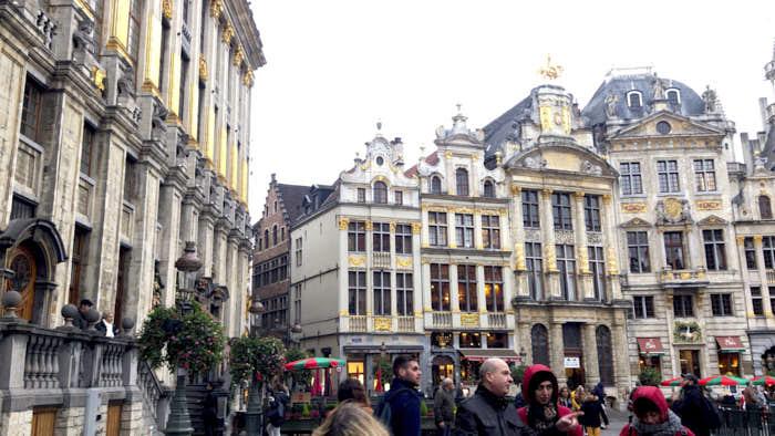 Grand Place Bruxelles Belgio Passione Passaporto