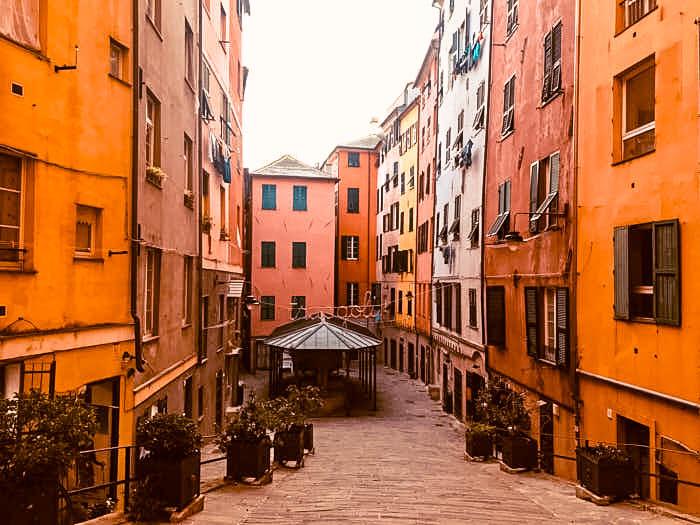 Genova Principe Quartiere del carmine Italia Liguria Passione Passaporto
