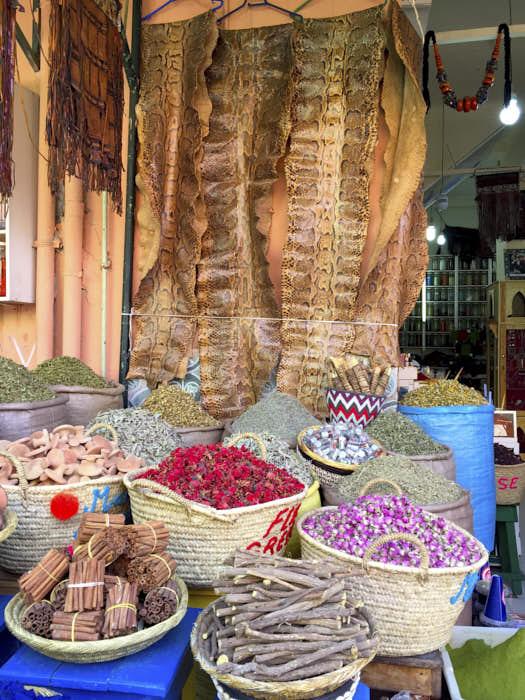 Spezie Marrakech Marocco Passione Passaporto
