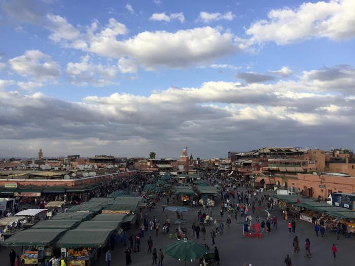 Jamaa El Fnaa Marrakech Marocco Passione Passaporto