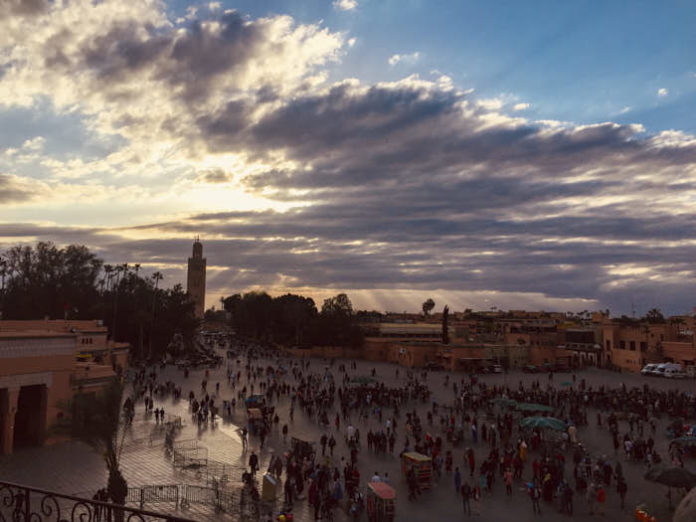 Copertina Marrakech