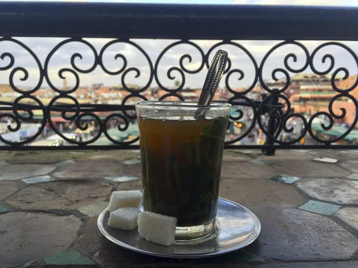 Tè alla menta Marocco Passione Passaporto