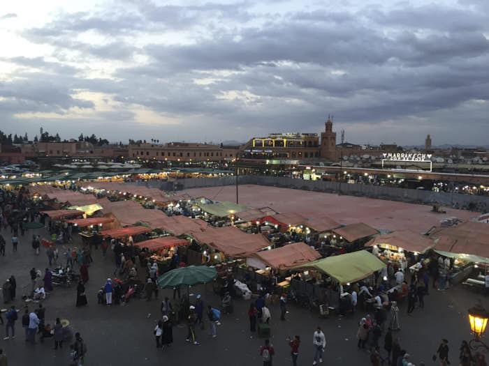 Jamaa Al Fnaa Marrakech Marocco Passione Passaporto