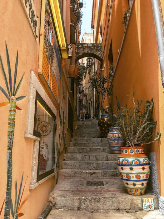 Taormina Italia Sicilia Passione Passaporto