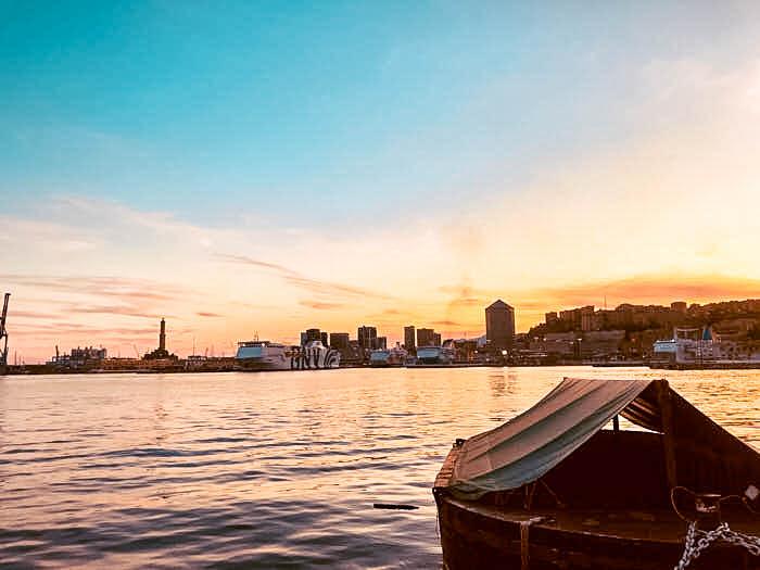 Porto Antico Genova Liguria Italia Passione Passaporto