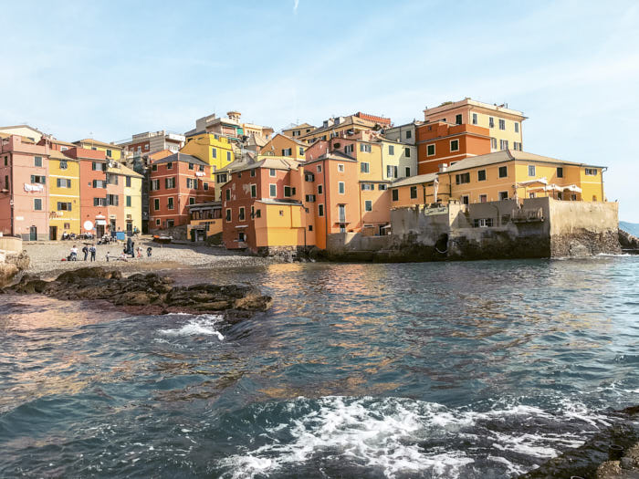 Boccadasse Genova Liguria Italia Passione Passaporto
