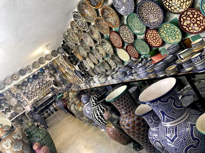 Ceramiche Fez Marocco Passione Passaporto