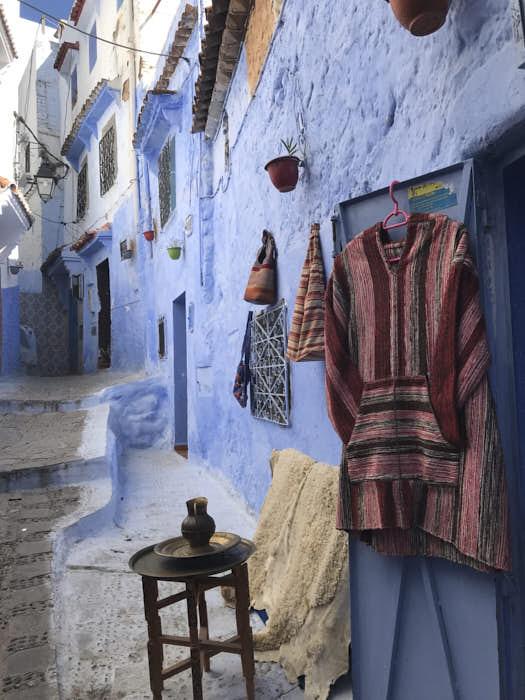 Chefchaouen souq marocco Passione Passaporto