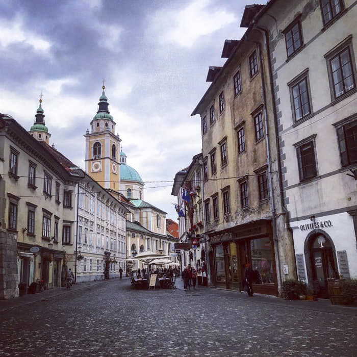 Lubiana Slovenia Passione Passaporto
