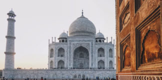 Taj Mahal Agra India Passione Passaporto