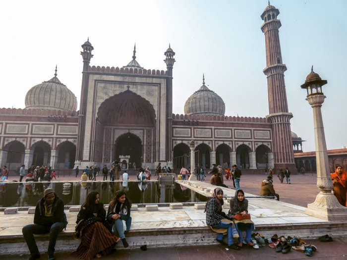 Jama Masjid Dehli India Passione Passaporto