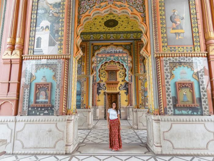 Patrika Gate Jaipur Rajastan India Passione Passaporto