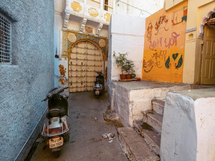 Jodhpur India Passione Passaporto
