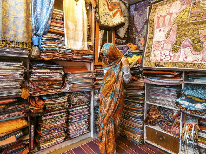 Sari India Rajastan Passione Passaporto