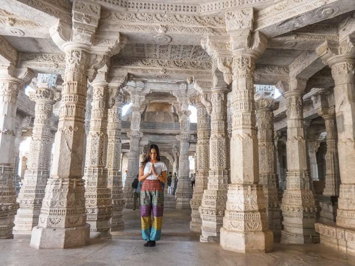 Ranakpur Rajastan India Passione Passaporto