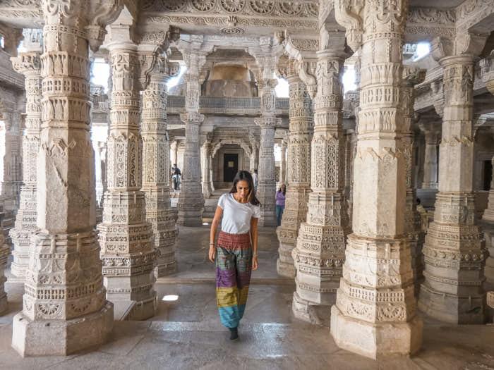 Ranakpur India Rajastan Passione Passaporto