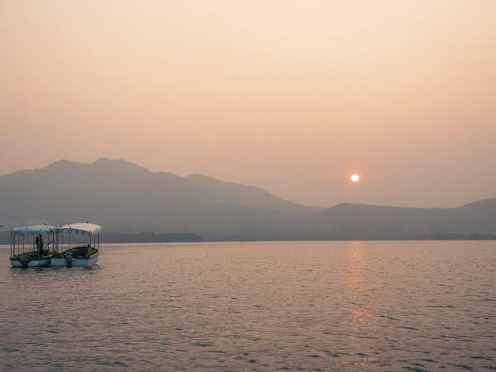 Lake Pichola Udaipur Rajastan India Passione Passaporto