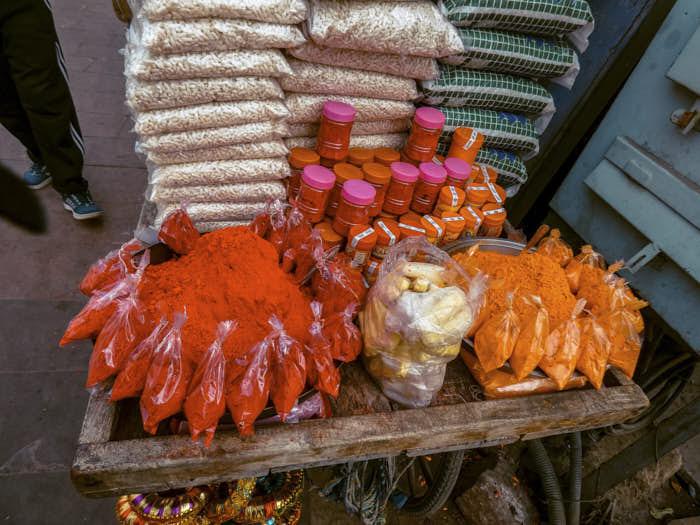 Bindi Bazar India Rajastan Passione Passaporto
