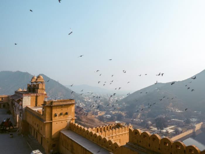 Amber fort Jaipur Passione passaporto