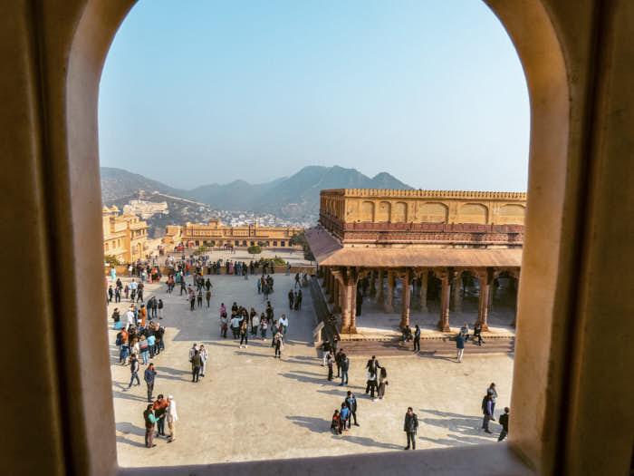 Amber Fort Aimer Jaipur India Rajastan Passione Passaporto