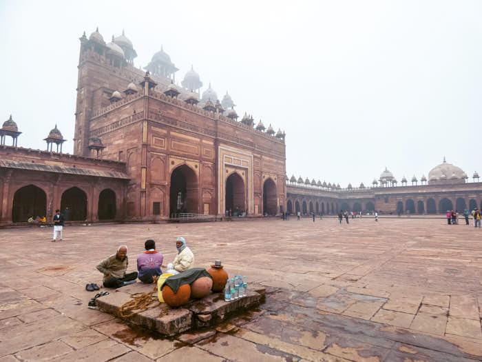 Fatehpur Sikri Agra India Passione Passaporto