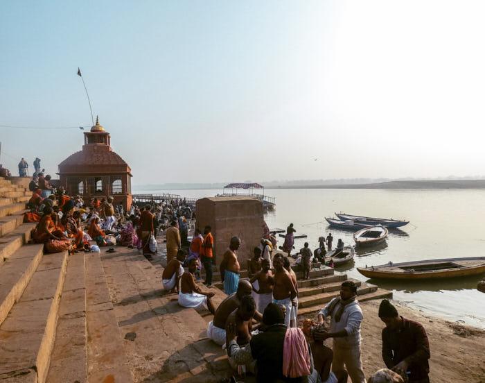 Varanasi India Uttar Pradesh Passione Passaporto