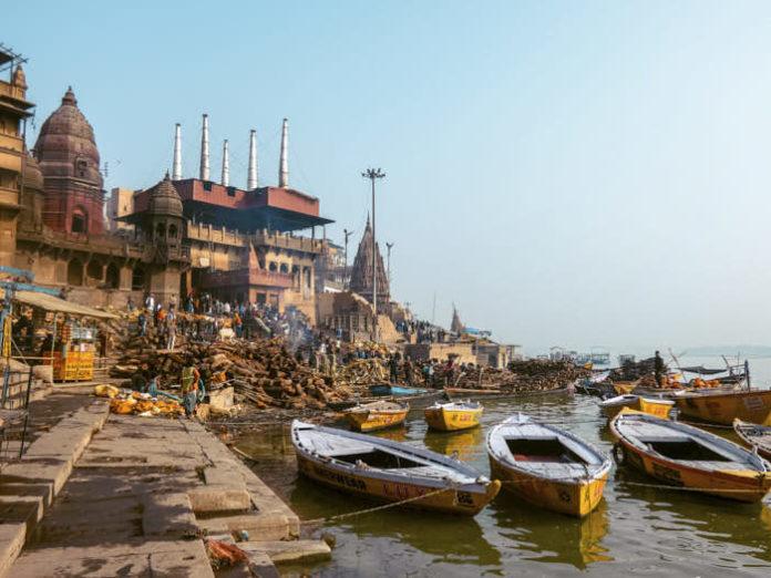 Varanasi Manikarnika ghat Uttar Pradesh India Passione Passaporto