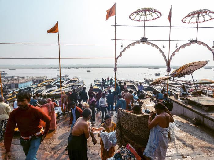 Ghat Varanasi India Passione Passaporto