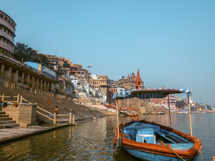 Varanasi India Passione Passaporto
