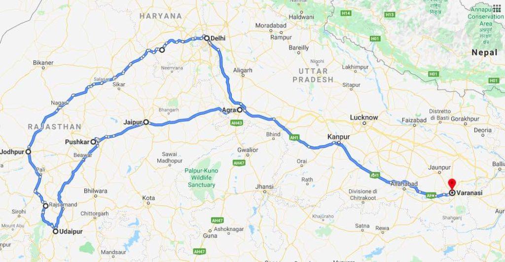 Itinerario India Passione Passaporto