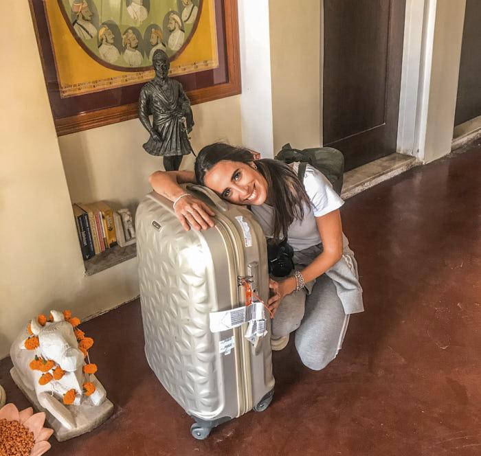 Valigia smarrita bagaglio smarrito Passione Passaporto
