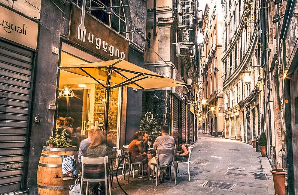 Mugugno Aperitivo Genova Passione Passaporto