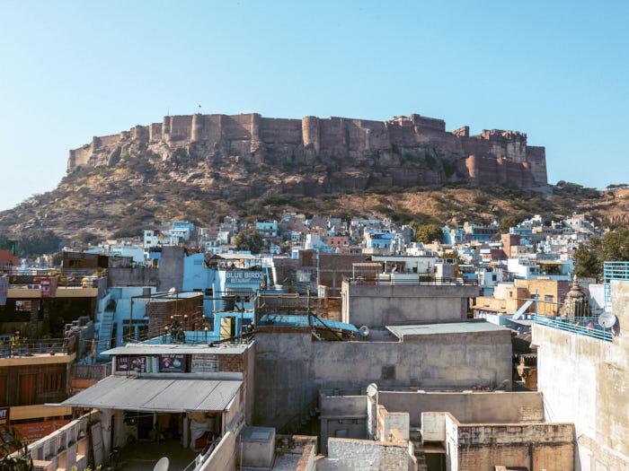 Jodhpur Forte Mehrangarh Rajastan India