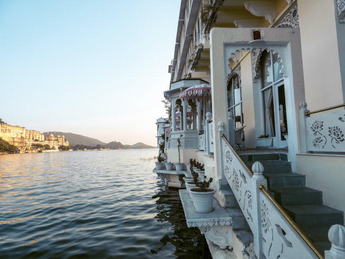 Lake Pichola Hotel Rajastan Udaipur India