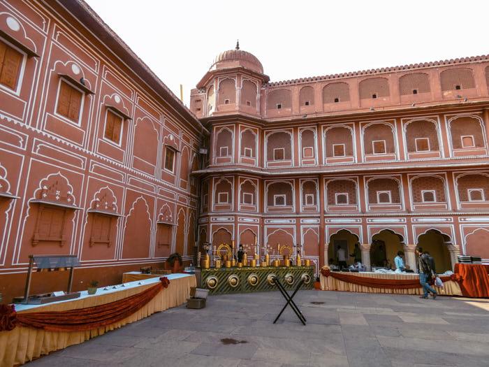 City Palace Jaipur Rajastan India Passione Passaporto