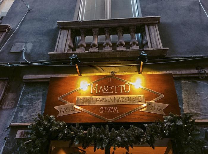 Masetto Genova Passione Passaporto