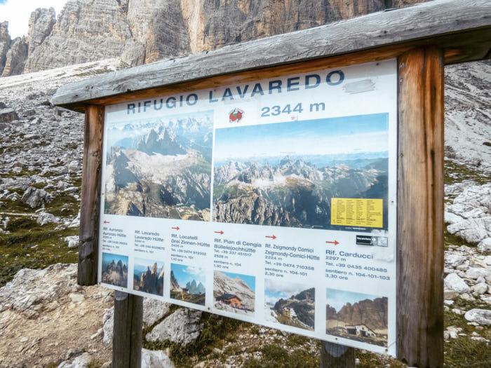 Rifugio LavaredoTre cime di Lavaredo Dolomiti Trentino Alto Adige Italia Passione Passaporto