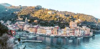 Portofino Liguria vista Chiesa San Giorgio Liguria Passione Passaporto